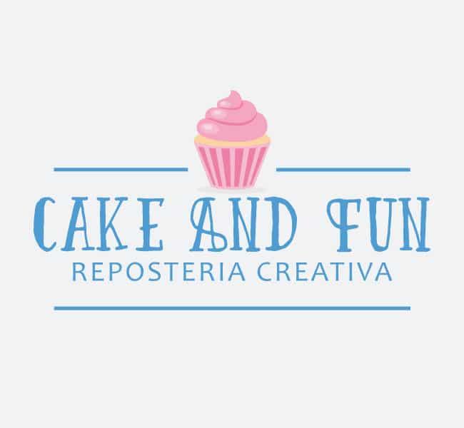 Logotipo Cake And Fun